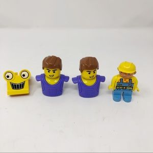 Lego Construction and People Figures